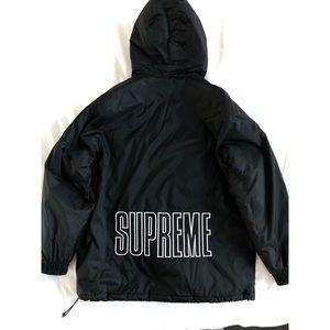 Supreme x Champion 2018 Black Parka
